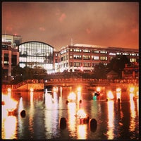 Photo taken at WaterFire Providence - Waterplace Park by Bank J. on 7/14/2013