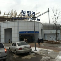 Photo taken at Cheongpyeong Stn. by Peter Minho H. on 2/17/2013