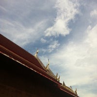 Photo taken at Wat Nuannoradit by Oneput Q. on 11/23/2013