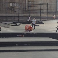 Photo taken at Coleman Playground Skatepark by Gina G. on 8/26/2013