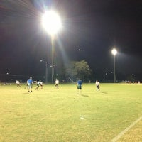 Photo taken at Magnolia Fields by Hasani H. on 10/17/2012