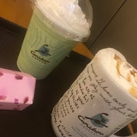 Photo taken at Caribou Coffee by Caraammellaa Q. on 4/28/2018