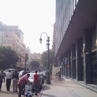 Photo taken at Cairo Center by Yoshifumi M. on 11/21/2012