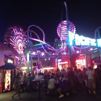 Photo taken at Santa Monica Pier by Brittany S. on 7/2/2013