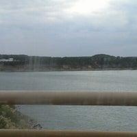 Photo taken at Stillhouse Hollow Dam by D. G. on 10/25/2012