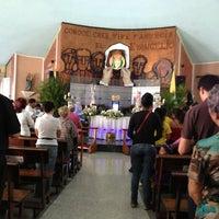 Photo taken at Iglesia Maria Auxiladora by Ricardo W. on 3/29/2013