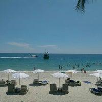 Photo taken at Sai Kaew Beach by A N. on 11/21/2015