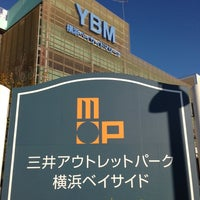 Photo taken at Mitsui Outlet Park Yokohama Bayside by takashi y. on 1/19/2013