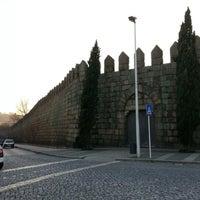Photo taken at Muralhas da Cidade de Guimarães by Camilla H. on 12/28/2012