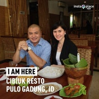 Photo taken at Cibiuk Resto by Irwan Setiadi  on 4/28/2013