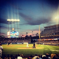Photo taken at Dodger Stadium by Andrew W. on 6/12/2013