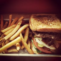 Photo taken at Burgers, Shakes & Fries by Muskan on 8/21/2015