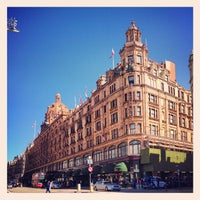Photo taken at Harrods by Richard Y. on 4/20/2013