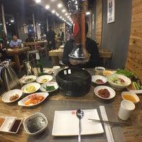 Photo taken at 麻蒲烧烤店 마포숯불갈비 by Noel T. on 11/13/2015