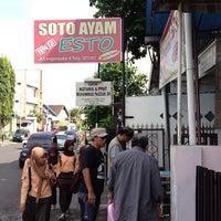 Photo taken at Soto Ayam Esto (Garasi) by Alekz J. on 5/24/2013