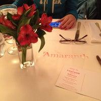 Photo taken at Amaranth by Maria K. on 10/28/2012