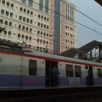 Photo taken at Charni Road Railway Station by Jugal M. on 10/31/2012