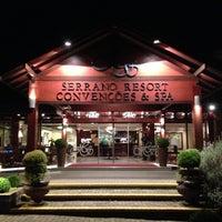 Photo taken at Wish Serrano Resort & Convention Gramado by Humberto S. on 5/6/2013