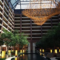 Photo taken at Hilton Anatole by Dan K. on 10/1/2012