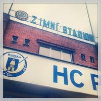 Photo taken at Zimní stadion Luďka Čajky by Jan H. on 2/26/2013