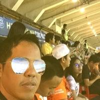 Photo taken at Supachalasai Stadium by Chanwatt S. on 11/25/2017