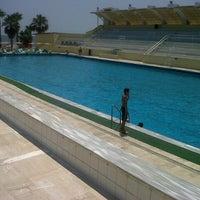 Photo taken at Denizpark Aquapark by Onur Abbas A. on 6/25/2013