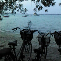 Photo taken at Pulau Tidung by anggi on 10/13/2012