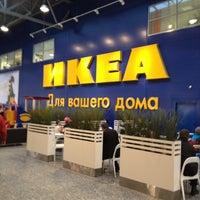 Photo taken at IKEA by Alexander K. on 11/20/2012