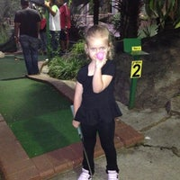 Photo taken at Adventure Golf by Enisa D. on 1/5/2013