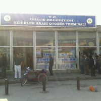 Photo taken at Düzce Şehirler Arası Otobüs Terminali by Azat R. on 10/26/2012