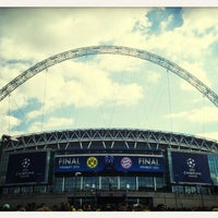 Photo taken at Wembley Stadium by Simon Z. on 5/28/2013
