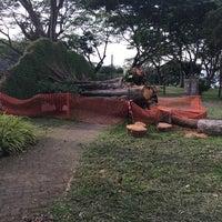 Photo taken at Kranji Beach Battle Site by Gan W. on 6/15/2014