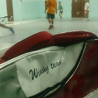 Photo taken at Indoor Badminton, Res Kota by •FammZ™• ♣. on 10/7/2014