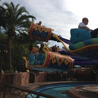 Photo taken at The Magic Carpets of Aladdin by Adam D. on 12/20/2012