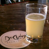Photo taken at DuClaw Brewing Company by Andrea Y. on 3/4/2013