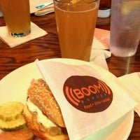 Photo taken at Boom Burger by Rania E. on 5/25/2012