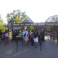 Photo taken at Maid Of The Mist - Canada entry by Kal B. on 9/2/2012