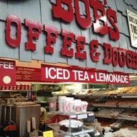 Photo taken at Bob's Coffee & Doughnuts by Austin W. on 6/24/2012