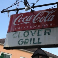 Photo taken at Clover Grill by Peter B. on 6/4/2012