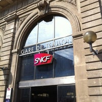 Photo taken at Gare SNCF de Toulon by Amine Z. on 8/5/2012