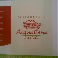 Photo taken at Restaurante Acquavena by Marco F. on 9/25/2011