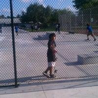 Photo taken at South Dade Skate Park by Stephanie R. on 8/21/2011