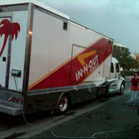 Photo taken at In-N-Out Burger Truck by Tony B. on 12/16/2011