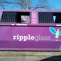 Photo taken at Ripple Glass Bin by ax0n on 1/1/2012