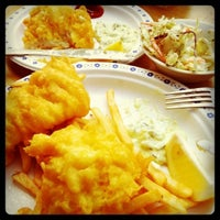 Photo taken at Deep Cove Fish & Chips by Freddie on 8/21/2011