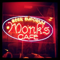 Photo taken at Monk's Cafe by Traci C. on 11/30/2011