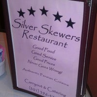 Photo taken at Silver Skewers by Brian S. on 10/21/2011