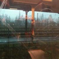 Photo taken at Neunkirchen (Saar) Hauptbahnhof by Robert W. on 12/22/2011