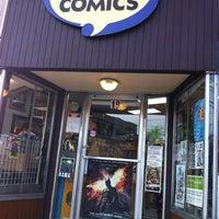 Photo taken at Hub Comics by Yaejin K. on 8/3/2012