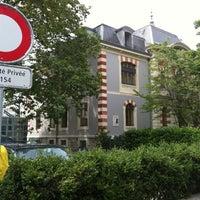 Photo taken at Geneva Hostel by José S. on 6/24/2012